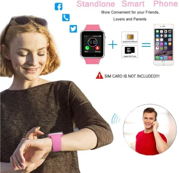 8.Android SmartWatch for Women Kids
