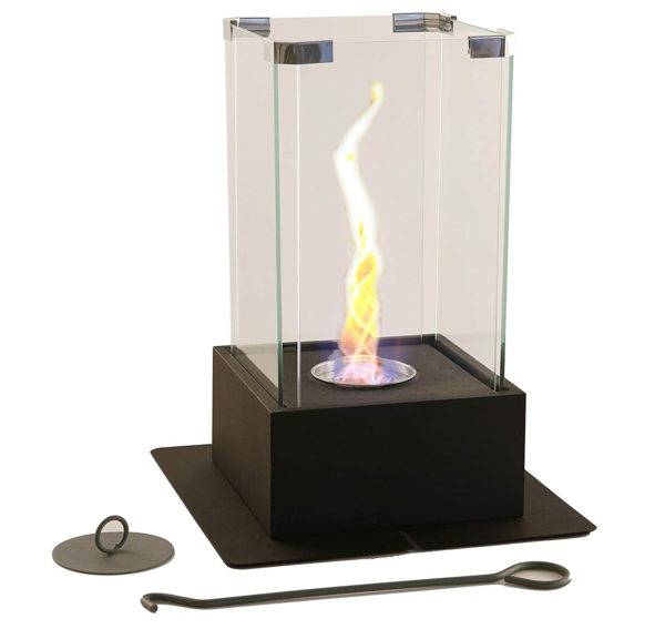 11.New! WJC Shop Tornado Fireplace - Unique Dancing Twisting Flame, Both Indoor and Outdoor Use, Great for Decoration