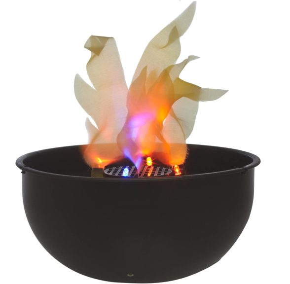 2.Fortune Products FLM-200 Cauldron Flame Light, 9.75 Bowl Diameter