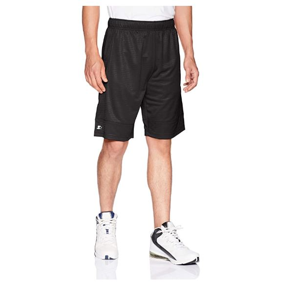 15.Starter Men's 10 Dazzle Basketball Short with Pockets, Amazon Exclusive