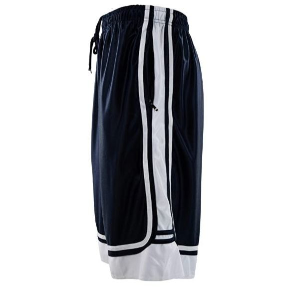 7.ChoiceApparel Mens Two Tone TrainingBasketball Shorts with Pockets (S up to 4XL)