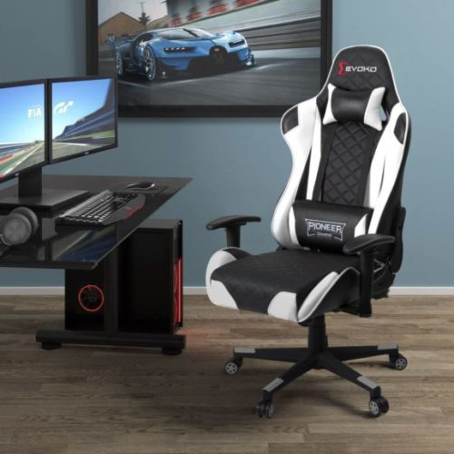 Devoko Gaming Chair Racing Style High Back Computer Chair
