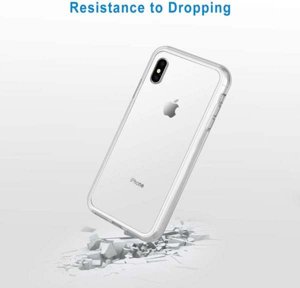 JETech Case for iPhone Xs Max 6.5-Inch, Shock-Absorption Bumper Cover