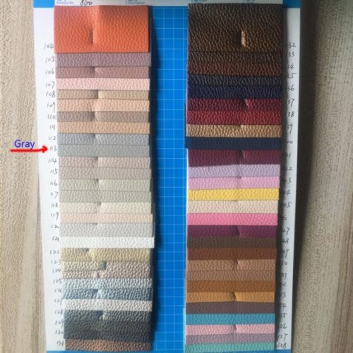 Leather Patch, Self-Adhesive Leather Patches for Couch, Multicolor Available Anti Scratch Leather 10 Pieces 4X8 Inch Peel and Stick