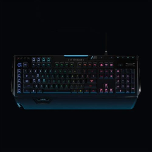 Logitech G910 Orion Spark RGB Mechanical Gaming Keyboard – 9 Programmable Buttons