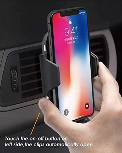 TOOBOSS Wireless Car Charger, Auto-Clamp Qi Car Mount