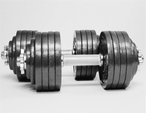 14.TELK Adjustable Dumbbells, Available for 45, 65, 105 to 200 lbs