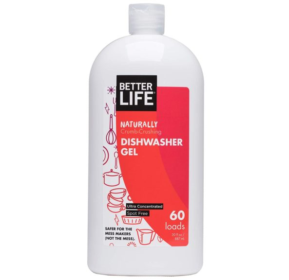 4.Better Life Natural Dishwasher Gel Detergent, 30 oz