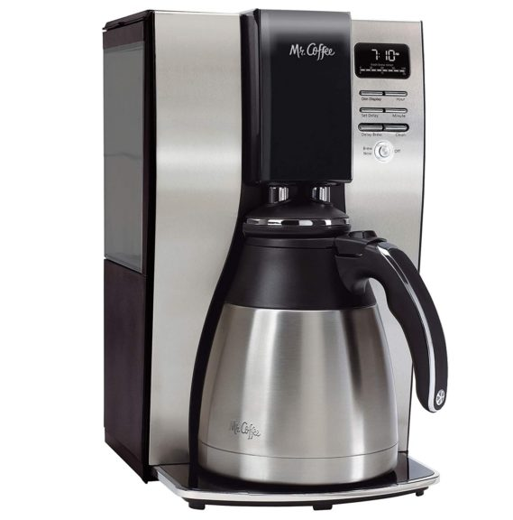4.Mr. Coffee 10 Cup Coffee Maker Optimal Brew Thermal System