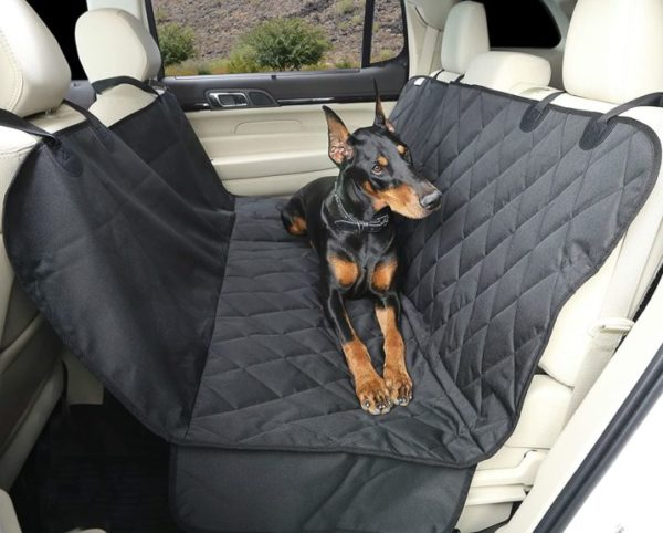 4Knines Dog Seat Cover with Hammock for Cars, Trucks and SUVs