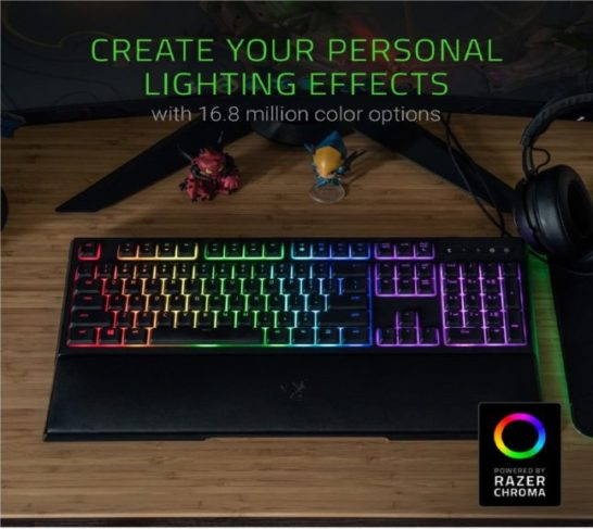 5.Razer Ornata Chroma Gaming Keyboard Hybrid Mechanical Key Switches