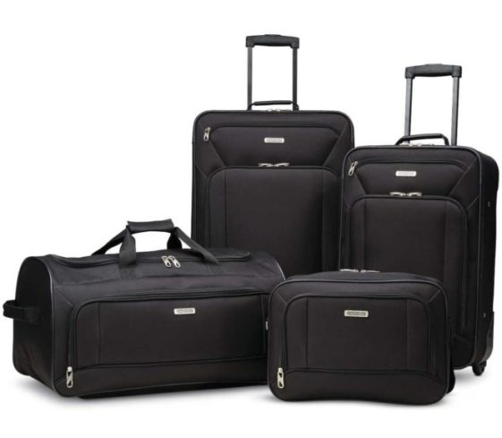 7.American Tourister Fieldbrook XLT Softside Upright Luggage