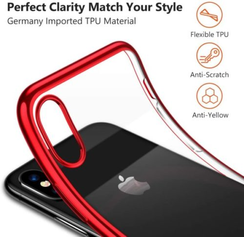 TORRAS Crystal Clear Designed for iPhone Xs Case,iPhone X Case