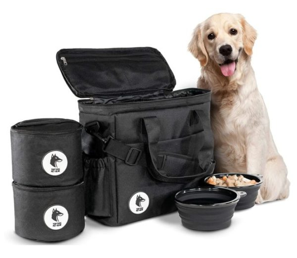 Top Dog Travel Bag - Airline Approved Travel Set for Dogs Stores