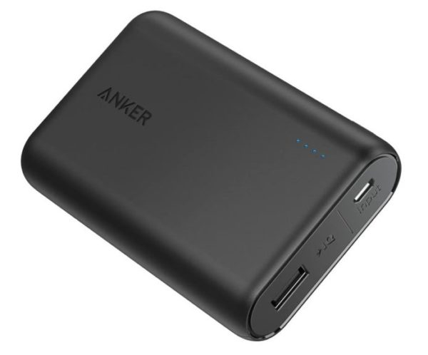 1. Anker PowerCore 10000 Portable Charger, One of The Smallest and Lightest 10000mAh Power Bank