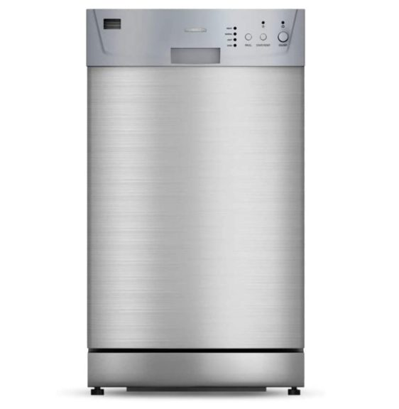 10. Furrion 18 Built-In RV Dishwasher with Double Rack