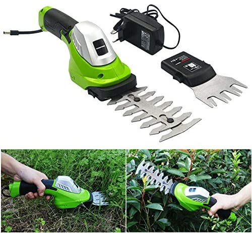 10. TOPCHANCES Handheld Grass Trimmer Cordless