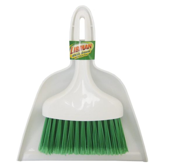 11. Libman 1031 Dust Pan with Whisk Broom