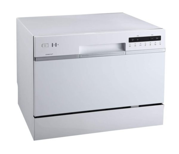 2. EdgeStar DWP62WH 6 Place Setting Energy Star Rated Portable Countertop Dishwasher