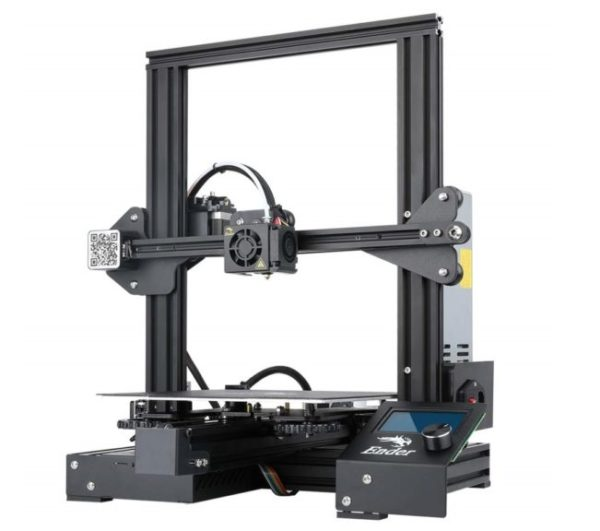 4. Creality Ender 3 Pro 3D Printer with Magnetic Build Surface Plate