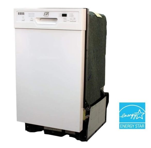 7. SD-9254W Energy Star 18 Built-In Dishwasher w,Heated Drying
