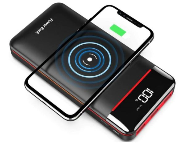 8. Wireless Portable Charger 25000mAh Power Bank with 3 Outputs& 2 Inputs Huge