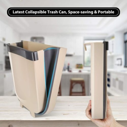 Braoses Hanging Trash Can for Kitchen Cabinet Door
