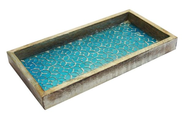 13. NuSteel Mosaic Tray for Luxurious Bath countertop