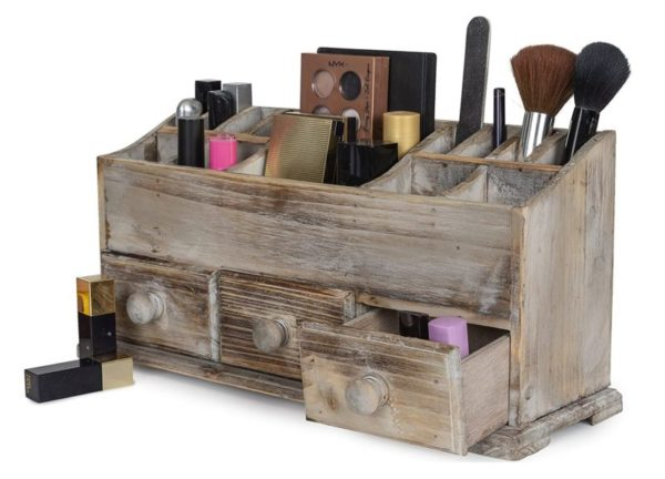 13. Vanity Drawer Beauty Organizer 3 Drawers